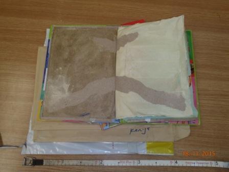 Heroin hidden in children's books
