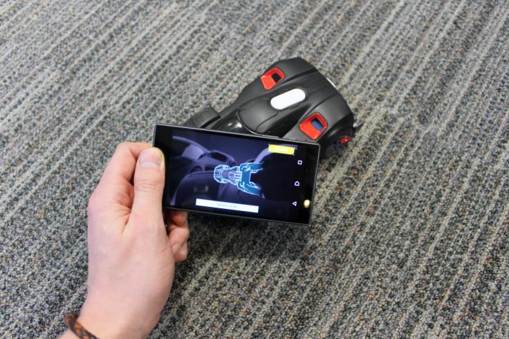 REV smartphone RC car AI