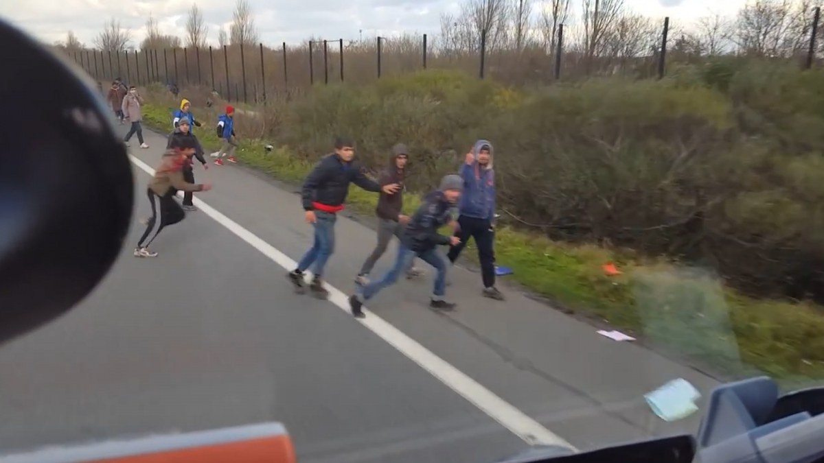 Hungary lorry driver