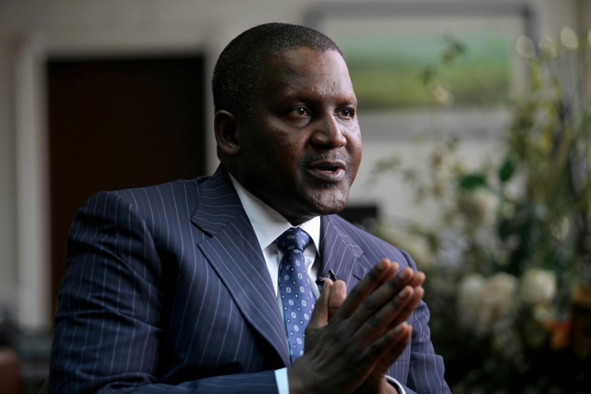 Aliko Dangote - Nigeria's richest man
