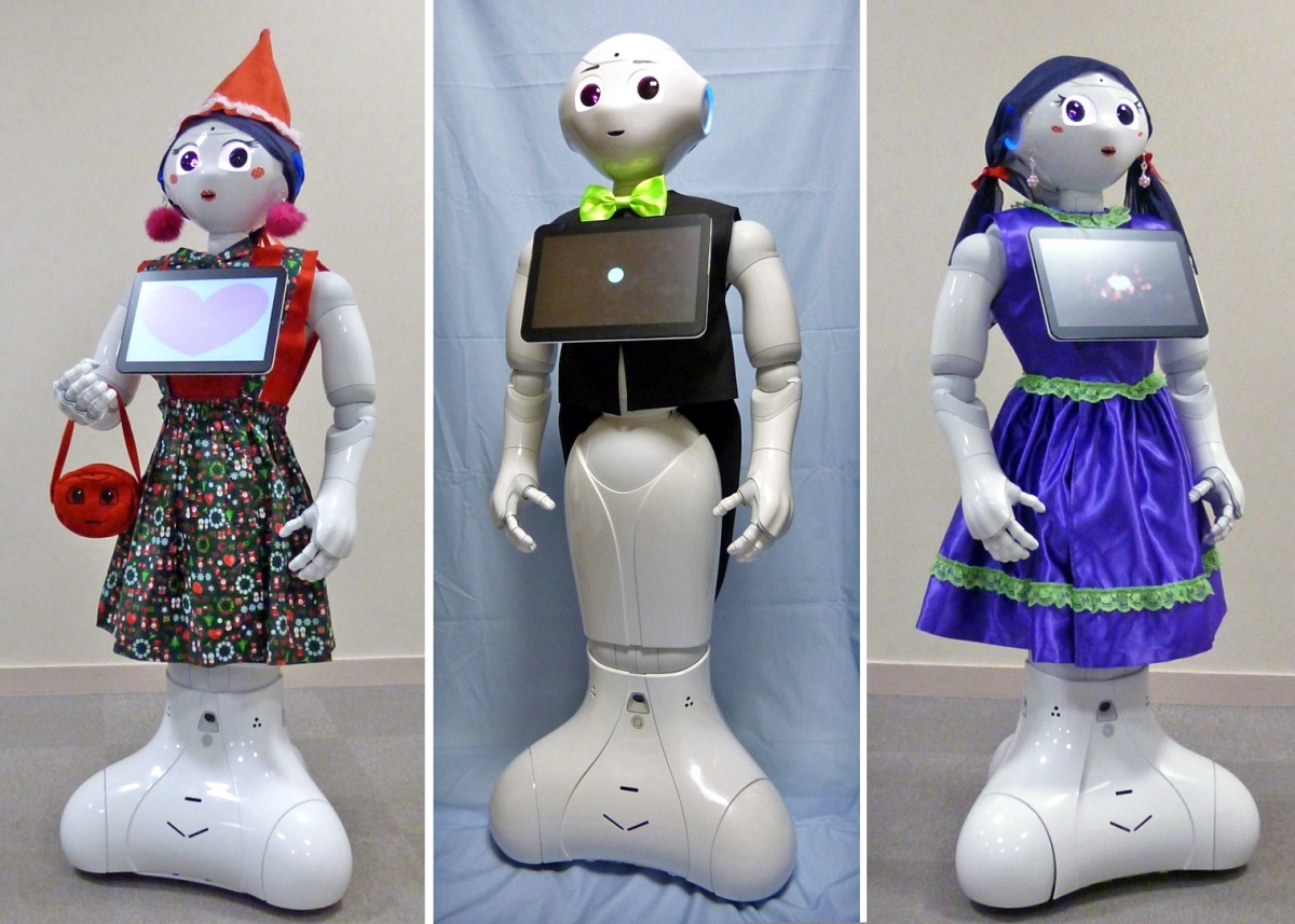 Pepper robot couture now available for sale