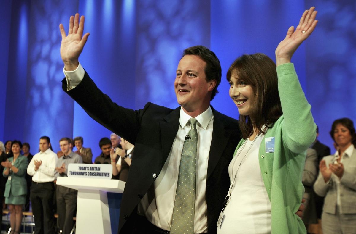 David Cameron Samantha Conservatives