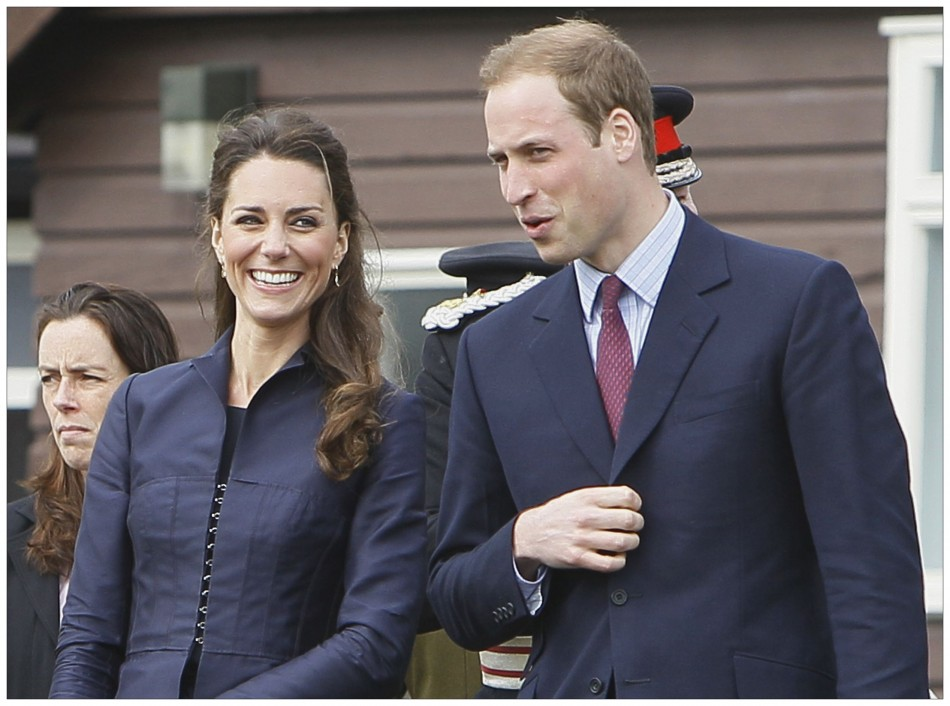 Americans think William and Kate are the couple that is most deserving of a break from media scrutiny (35%) with the Obamas as a close second (34%), followed by Brad Pitt and Angelina Jolie (21%). PHOTO: REUTERS