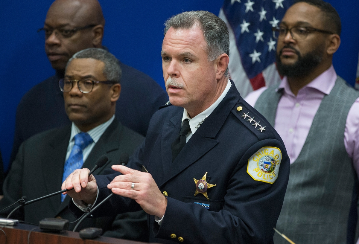 Chicago Police Superintendent Garry McCarthy