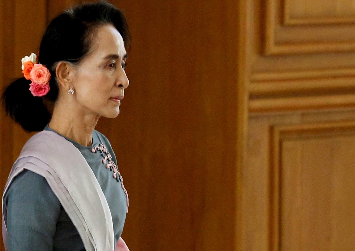 Myanmar Aung San Suu Kyi transition talks