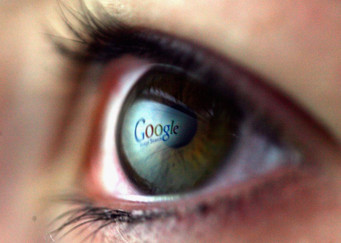 Cyborg eye contacts