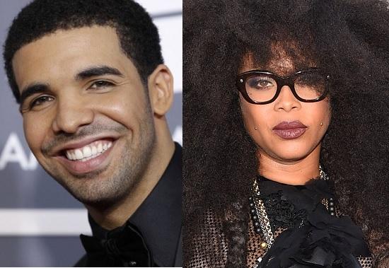 Drake and Erykah Badu
