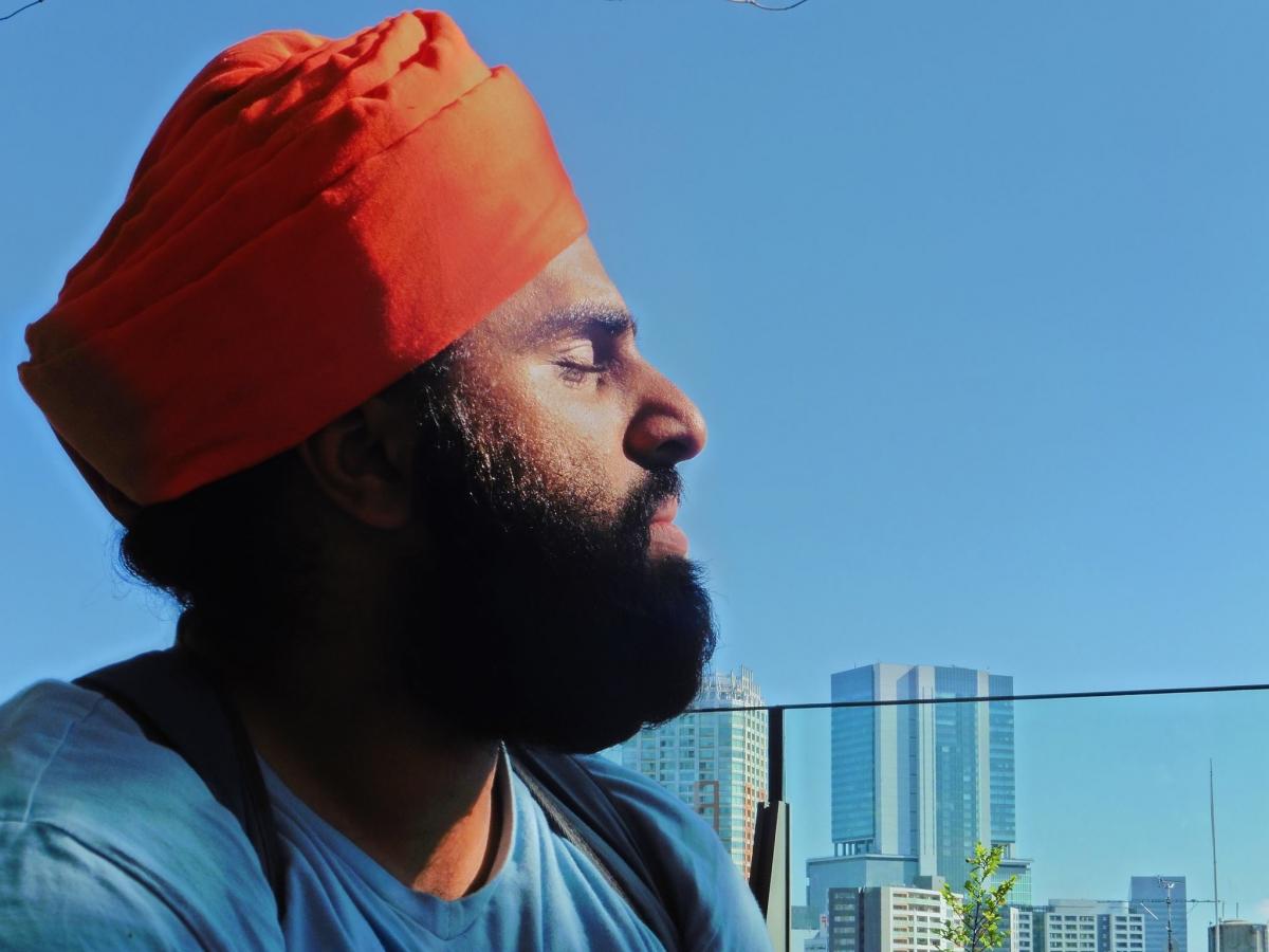British-Sikh Navjot Sawhney