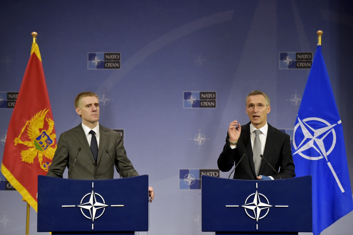 Montenegro joins Nato