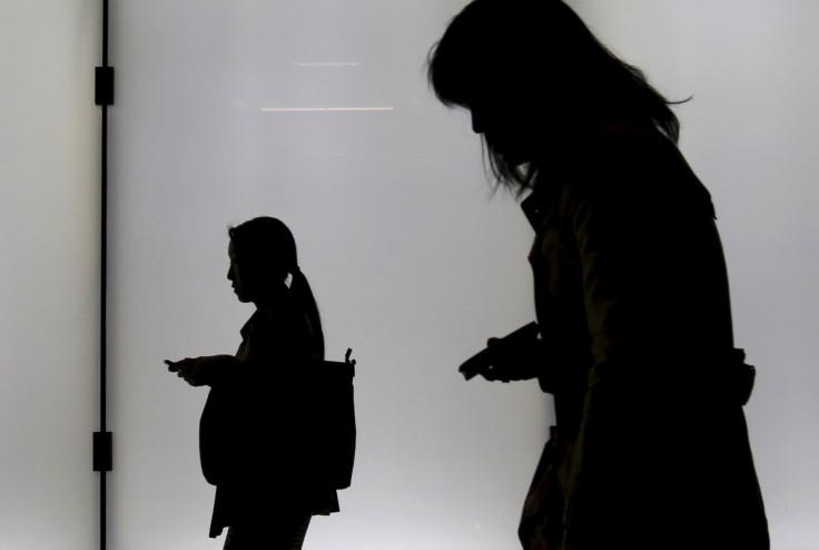 Women in shadow