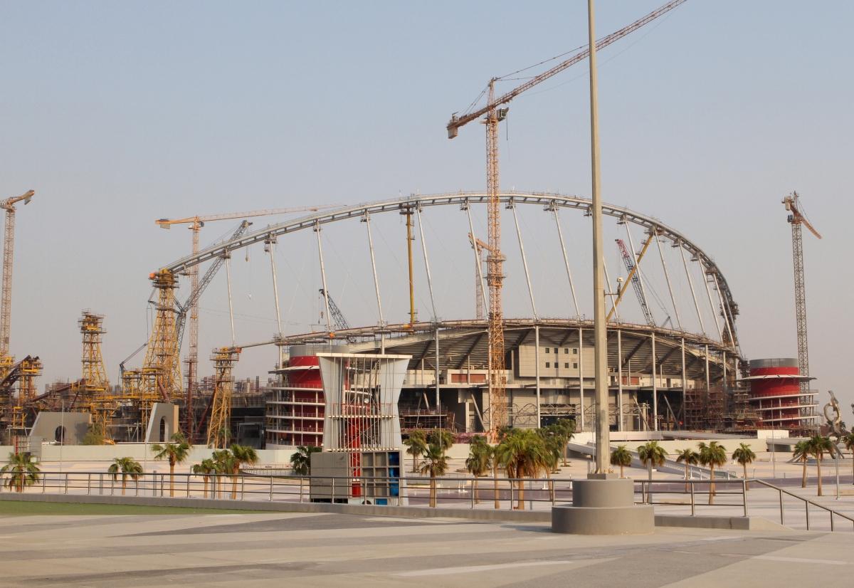 Qatar building site