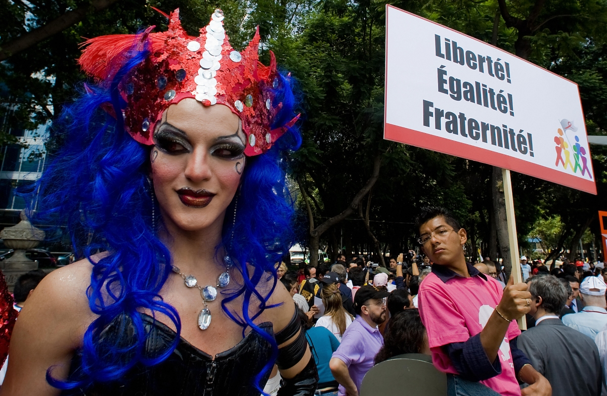 Mexican drag queen