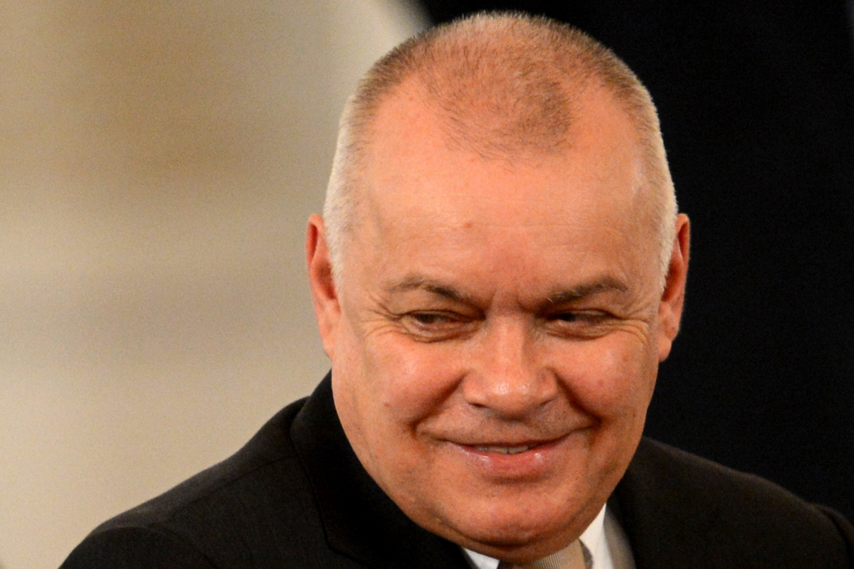 Russian media commentator Dmitry Kiselyov