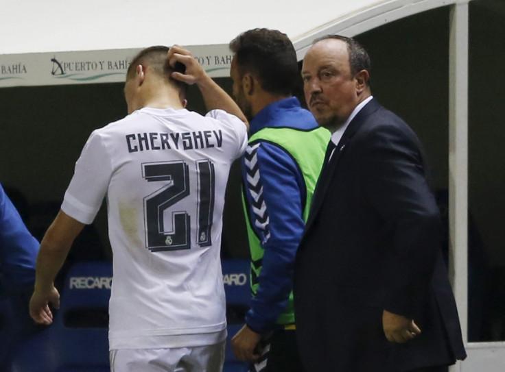 Denis Cheryshev & Rafael Benitez