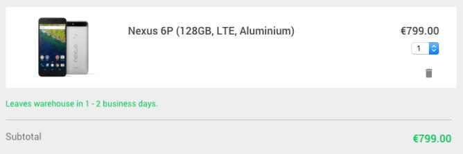 Nexus 6P 128GB