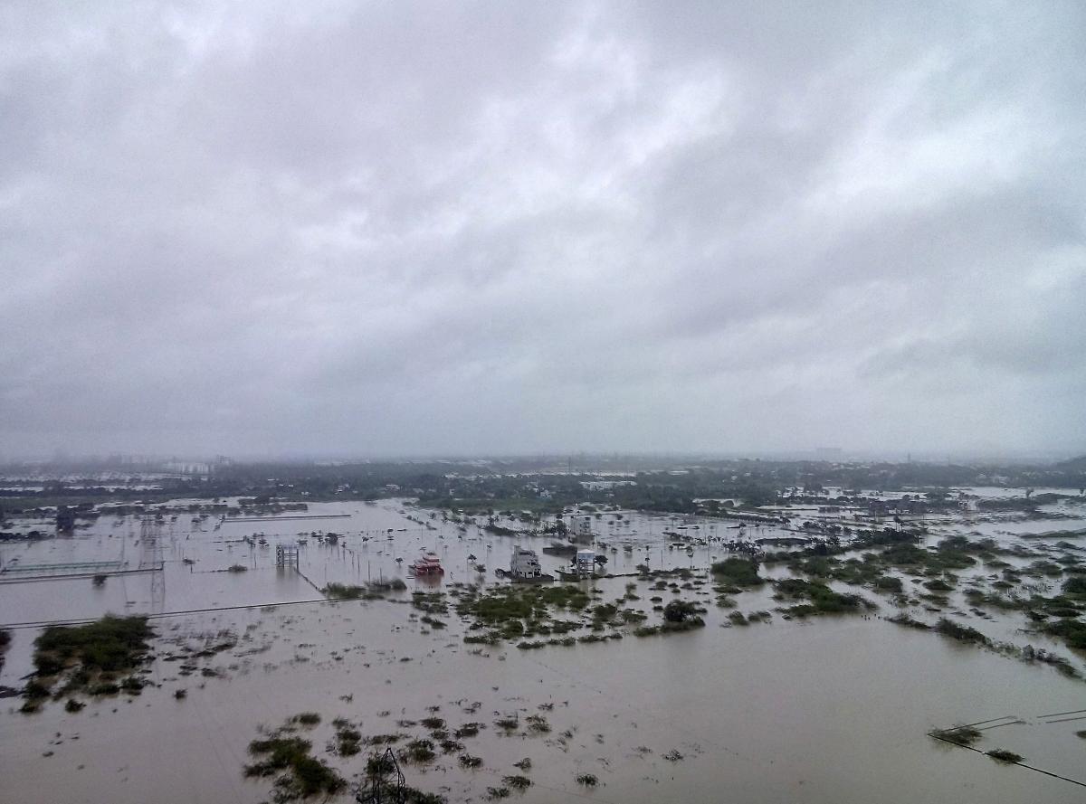Chennai floods and India rains