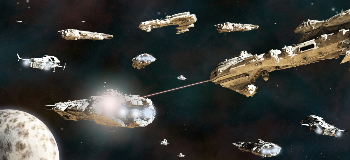 alien war battle