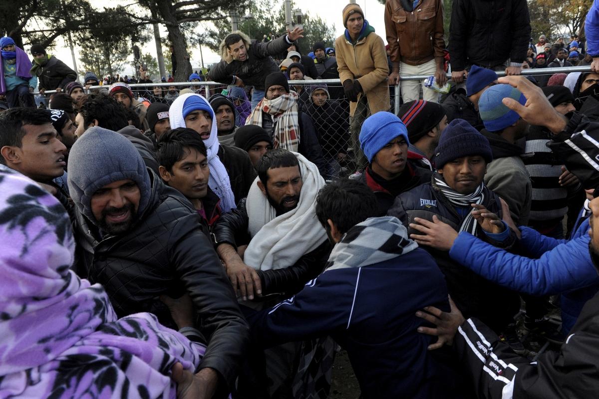 Migrant crisis Idomeni