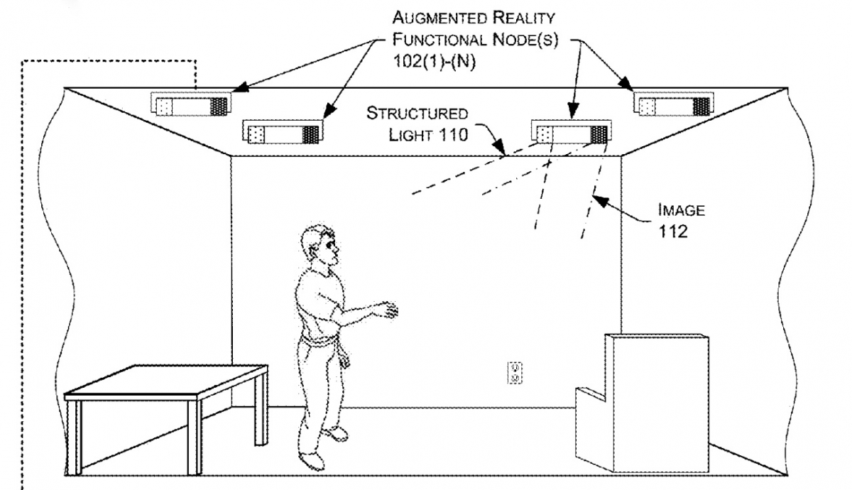 Amazon wants to use holograms to turn your living room into an augmented reality