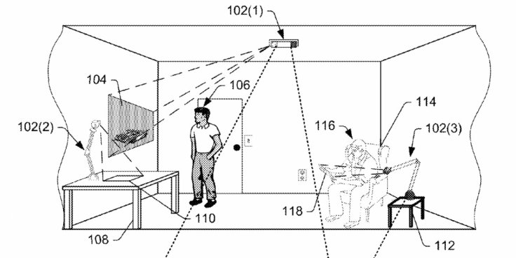 Amazon hologram augmented reality patent