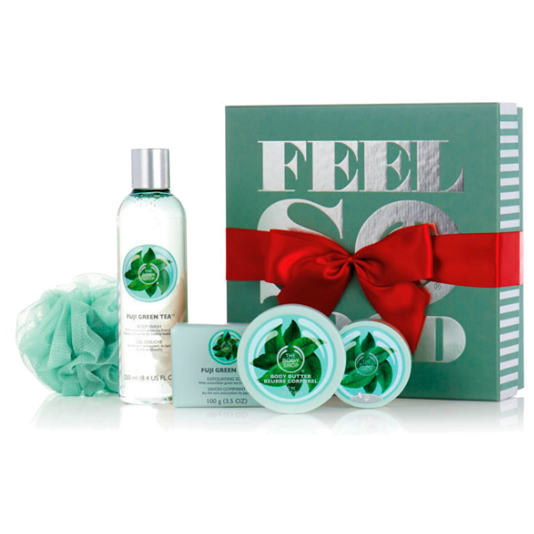 The Body Shop Christmas set
