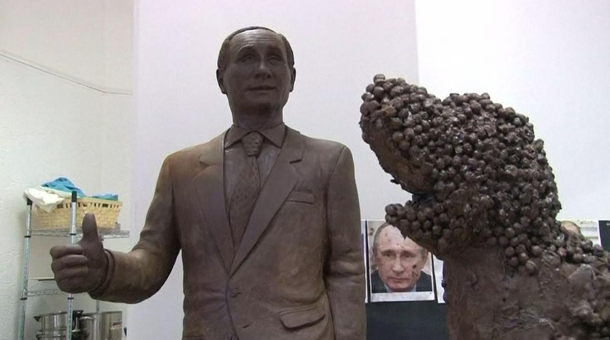 Chocolate Vladimir Putin