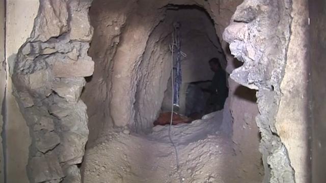 Underground tunnels of Sinjar