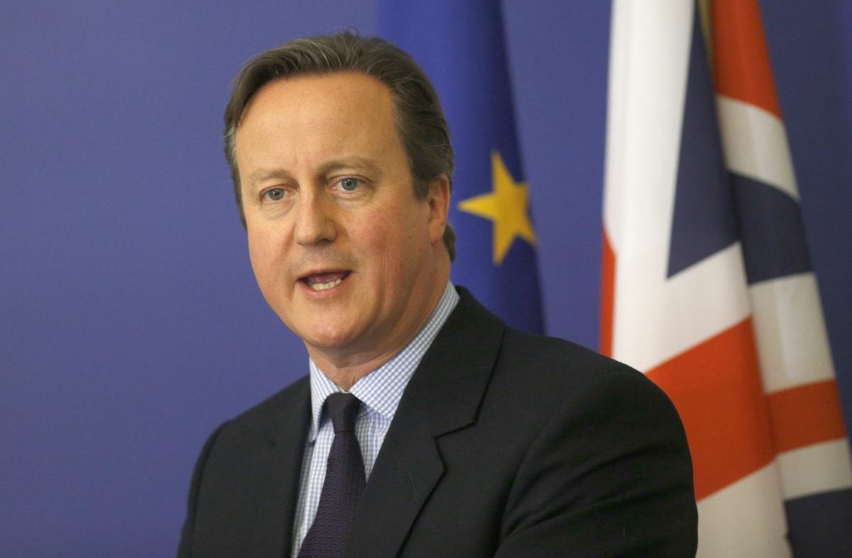 David Cameron in Sofia