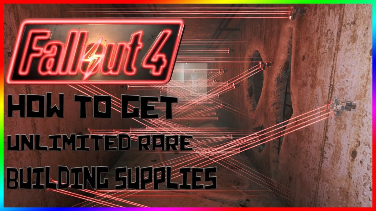 Fallout 4: Unlimited and rare building supplies