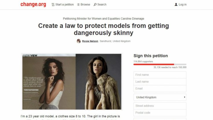 Rosie Nelson petition