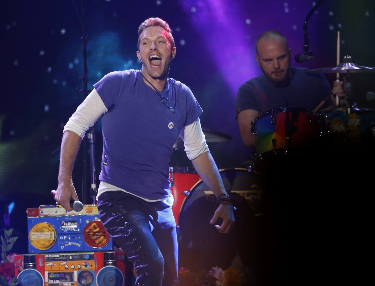 Coldplay Chris Martin