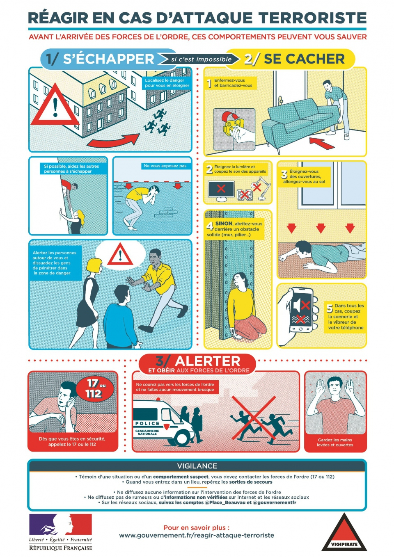 France safety instruction terror attack