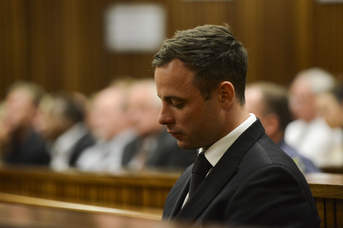 Oscar Pistorius is sentenced
