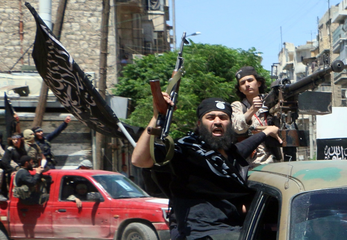 Al Nusra fighters on the way tothefront