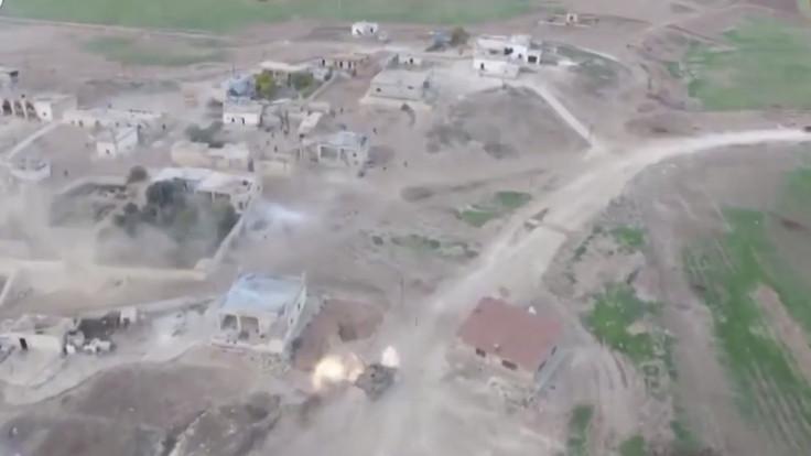 Al Nusra drone attack