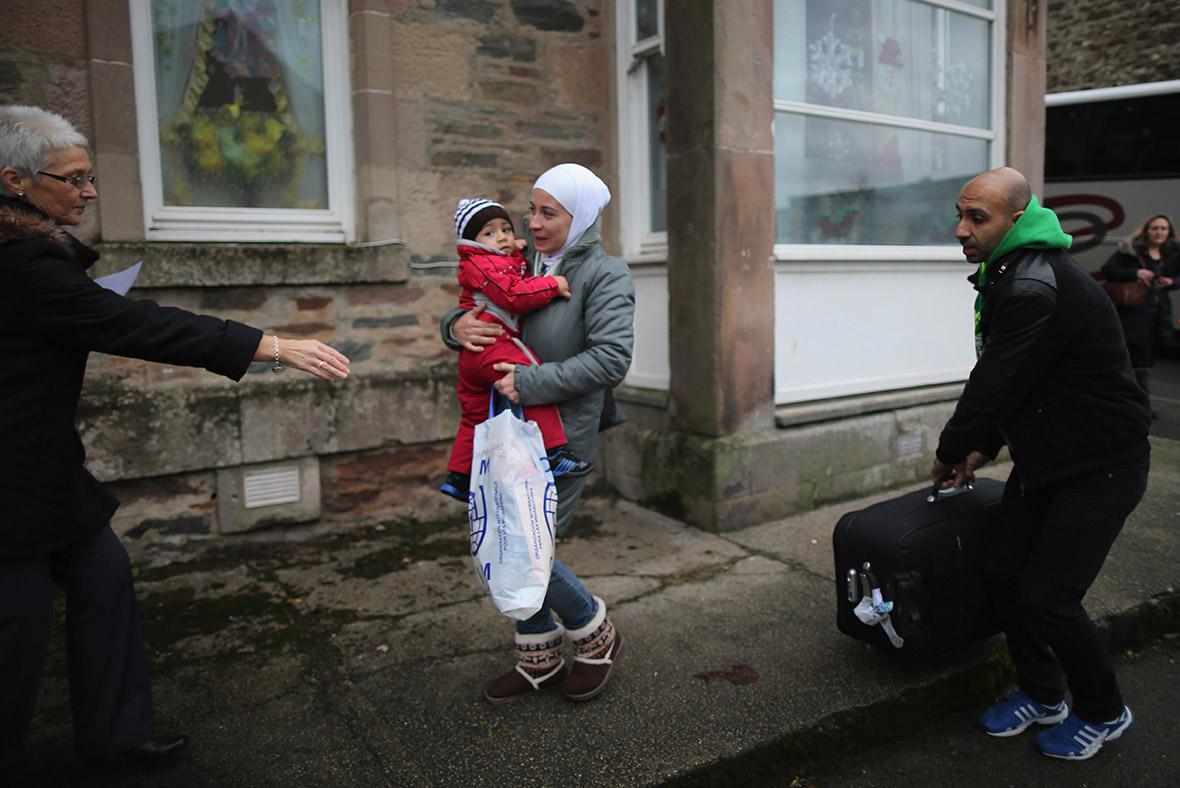 Syrian refugees UK