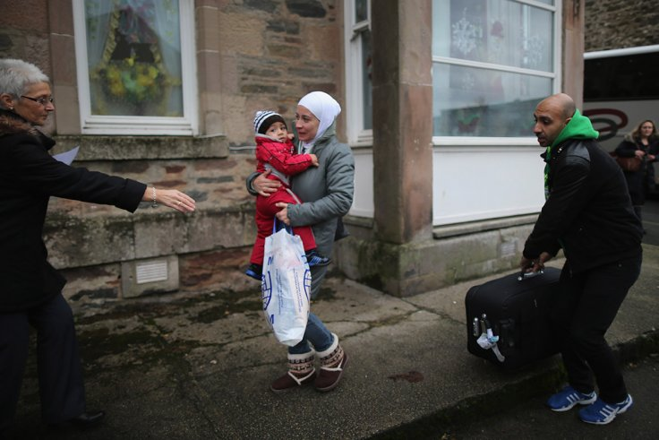 Syrian refugees UK