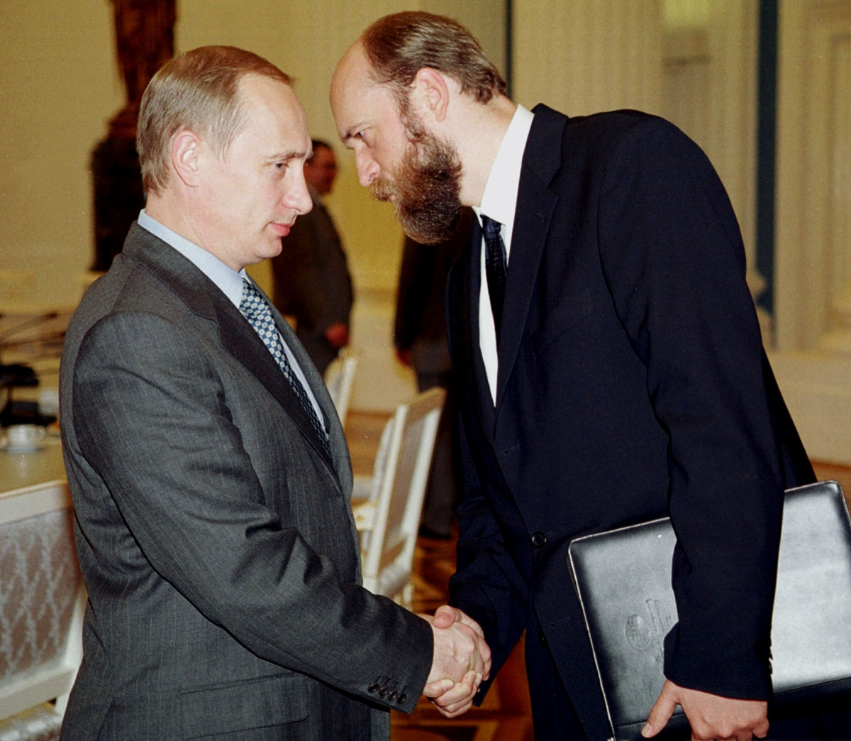 Putin and Pugachev