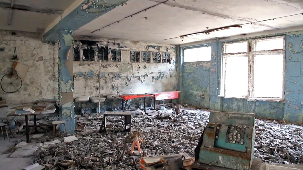 Chernobyl virtual reality experience