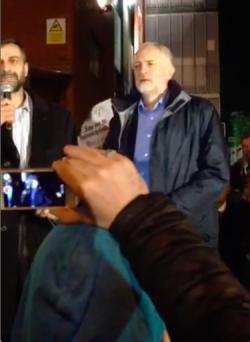 Corbyn Finsbury Park Mosque