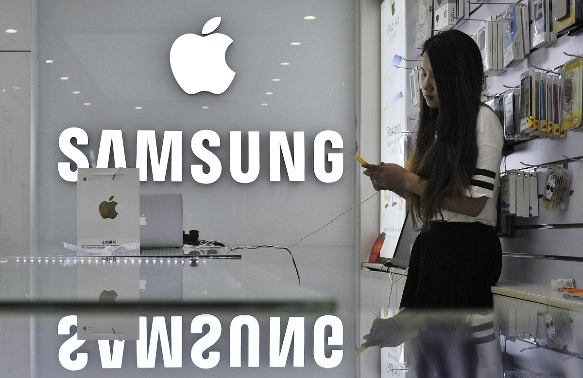 Apple to receive $548m from Samsung after nearly a five-year-long patent dispute