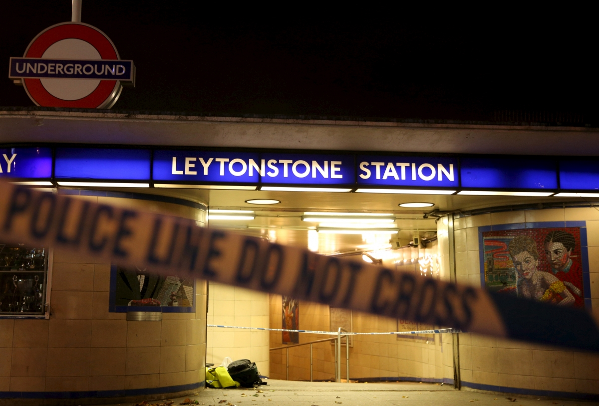 Leytonstone station, London