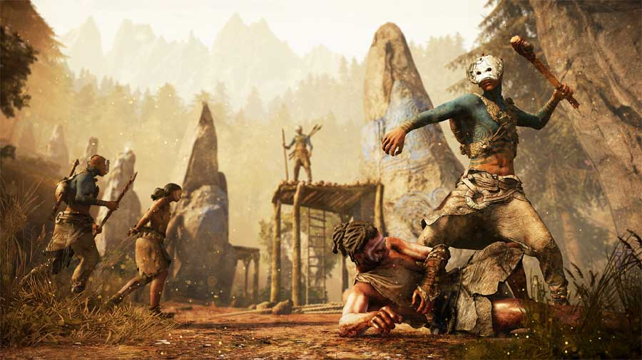 Far Cry Primal Gameplay Trailer Released New Game Settings And