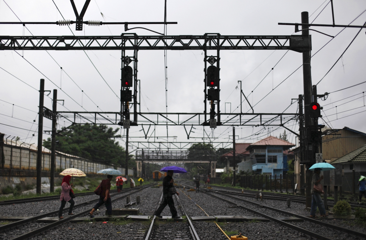 Indonesia train crash