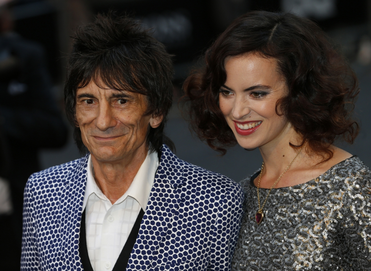 Ronnie Wood expecting twins