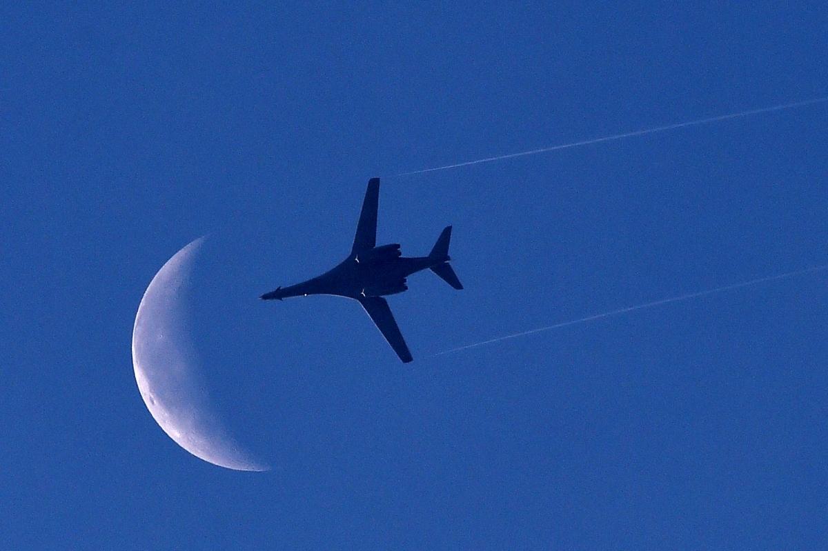 A warplane