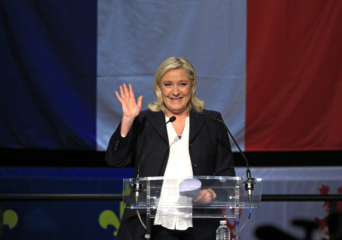 Front National regional elections in France