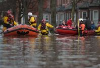 Storm Desmond evacuations