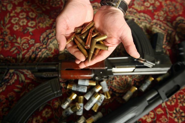 Kalashnikov ammunition and Isis propaganda seized after
