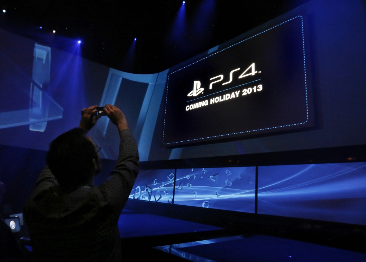 Record PS4 sales could help turnaround Sony
